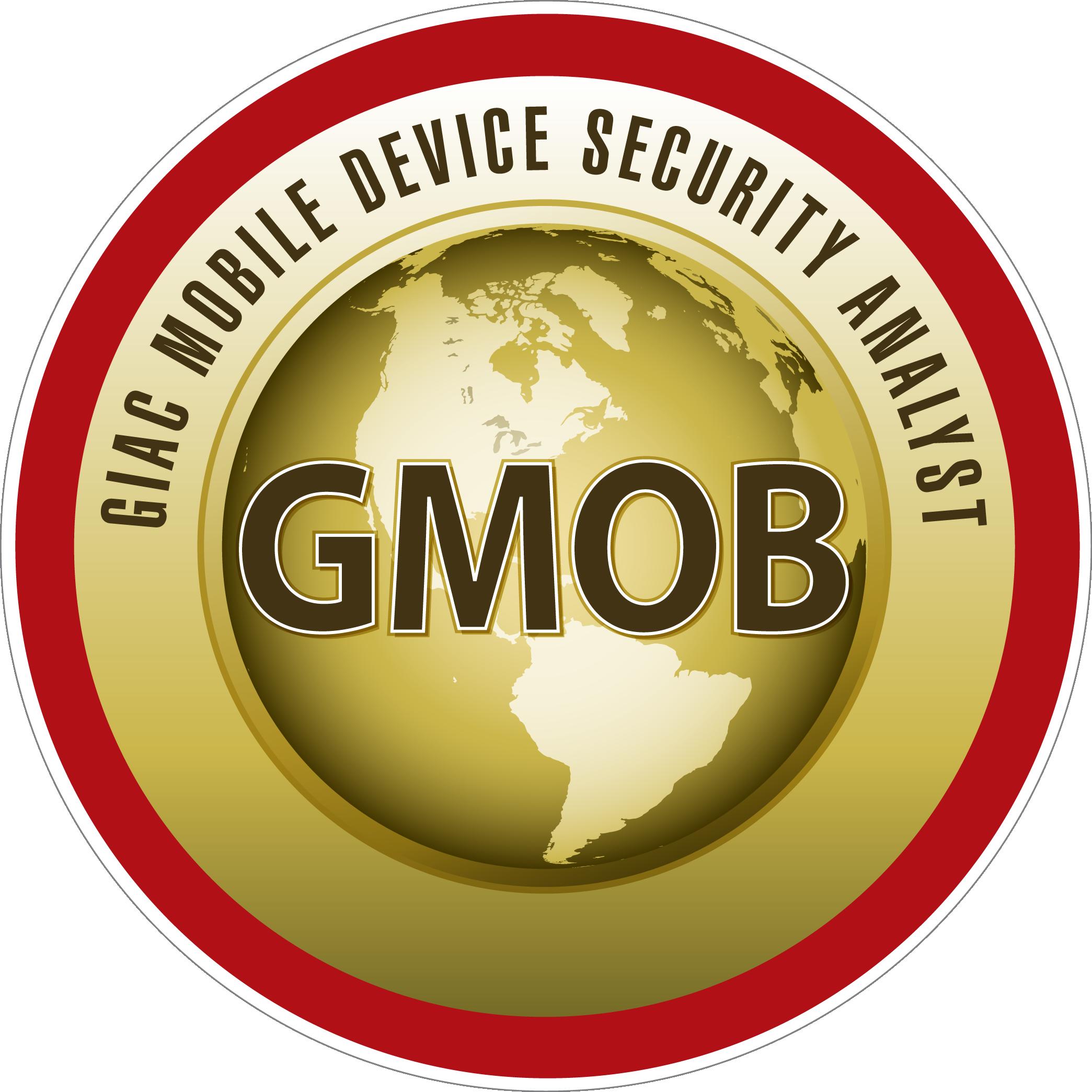 GIAC Mobile Device Security Analyst (GMOB) icon