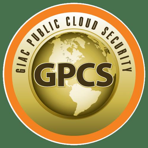 GIAC Public Cloud Security (GPCS) icon