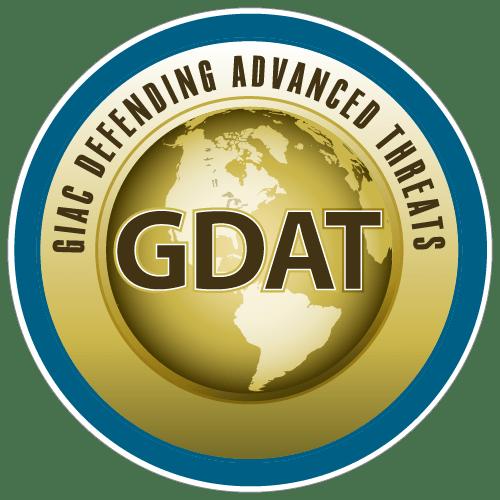 GIAC Defending Advanced Threats (GDAT) icon