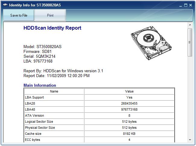 HDDScan_Identity Report