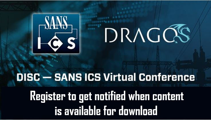 DISC-SANS ICS Virtual Conference