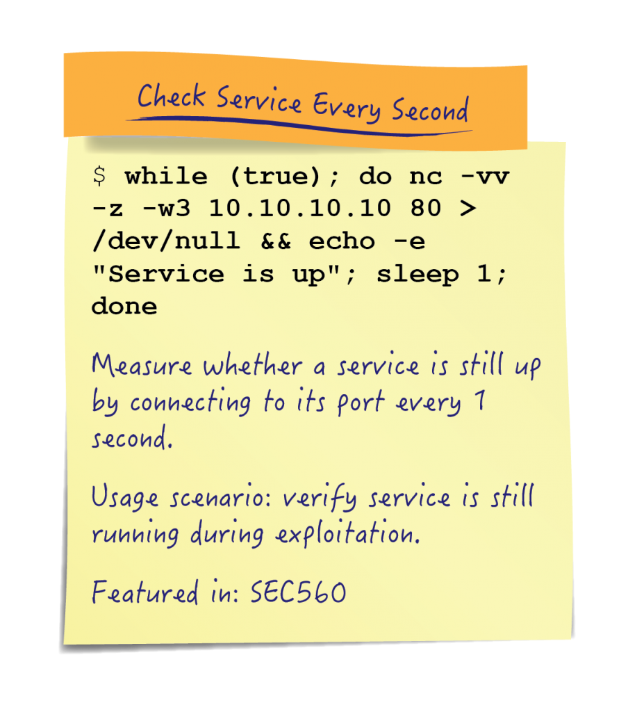 Board-Elements_Check-Service-Every-Second