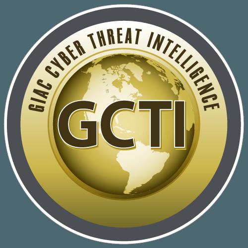 GIAC Cyber Threat Intelligence (GCTI) icon