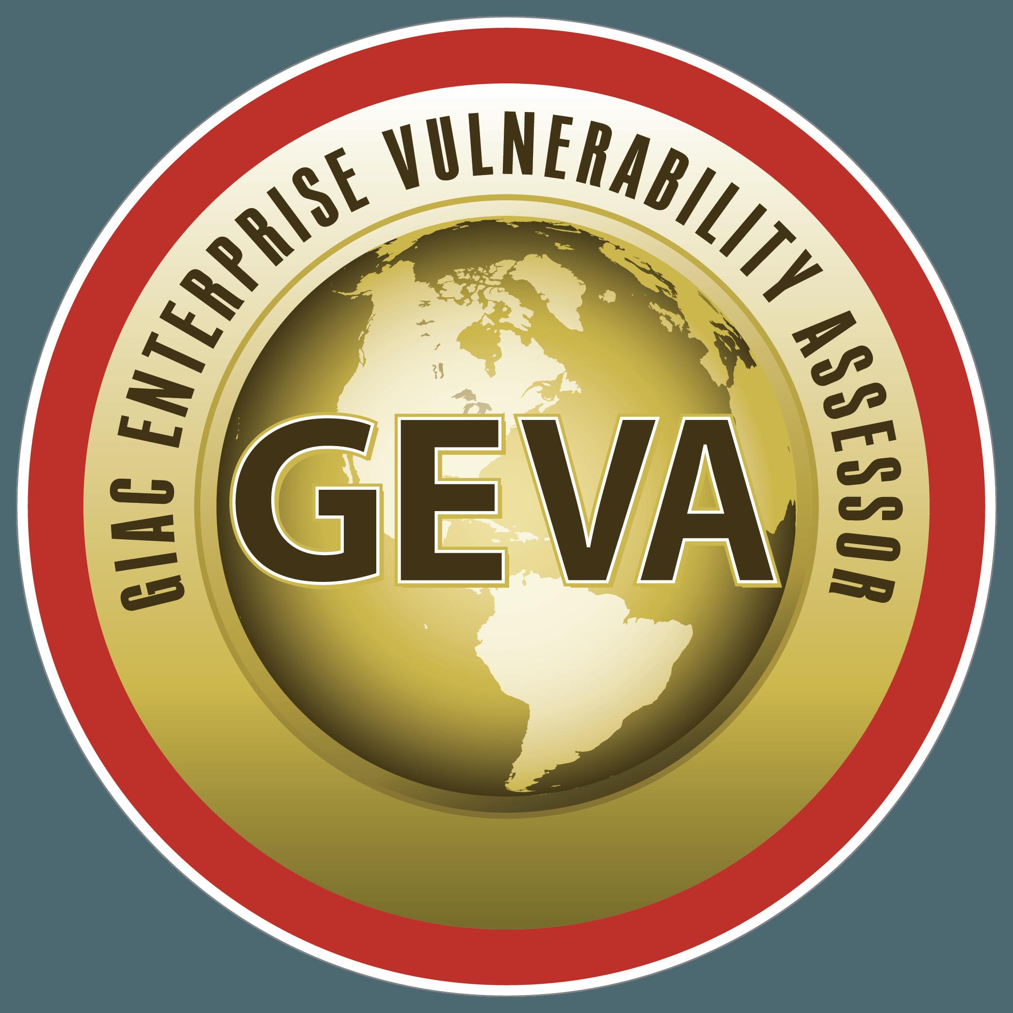 GIAC Enterprise Vulnerability Assessor (GEVA) icon