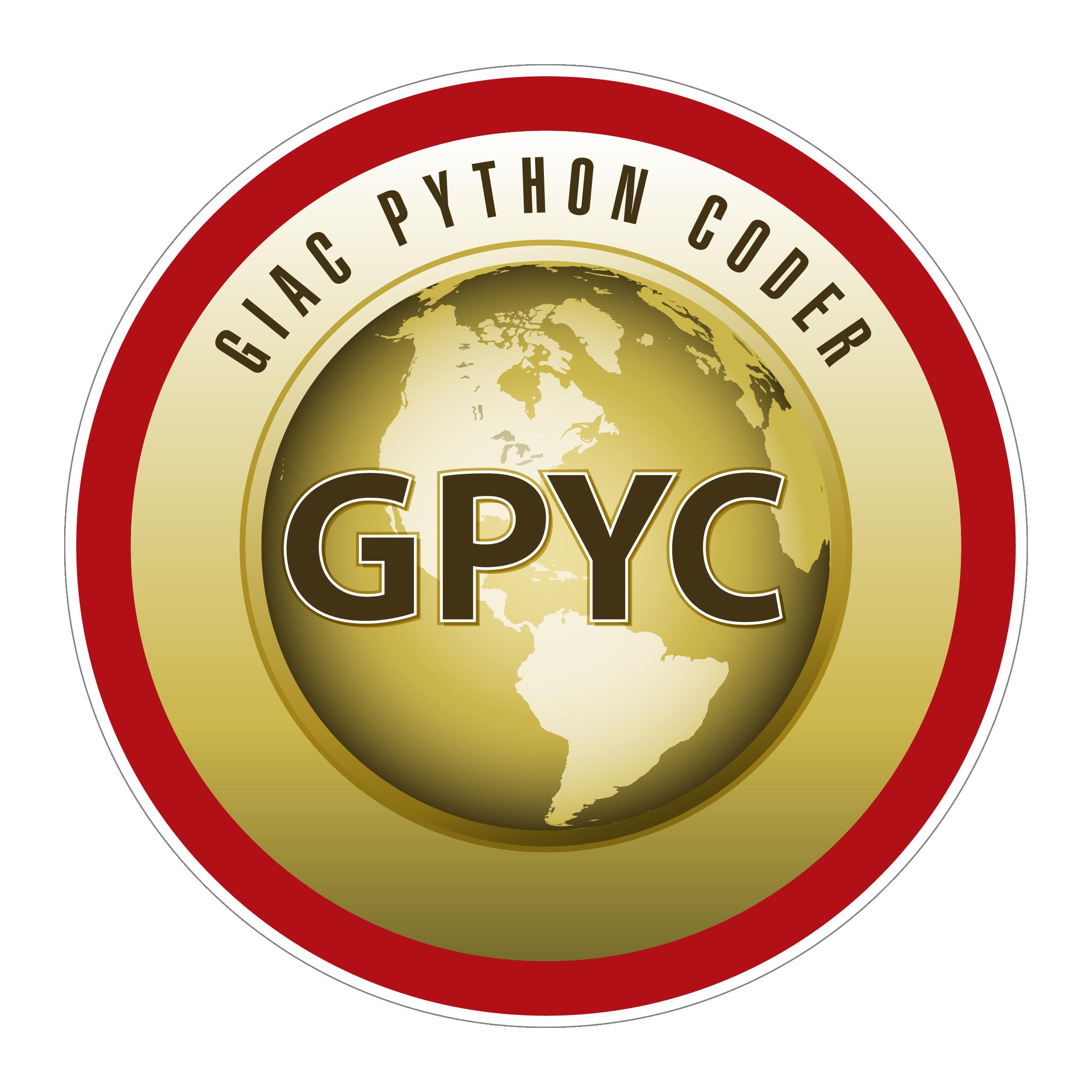 GIAC Python Coder (GPYC) icon