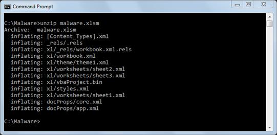 unzip-office-xml-file