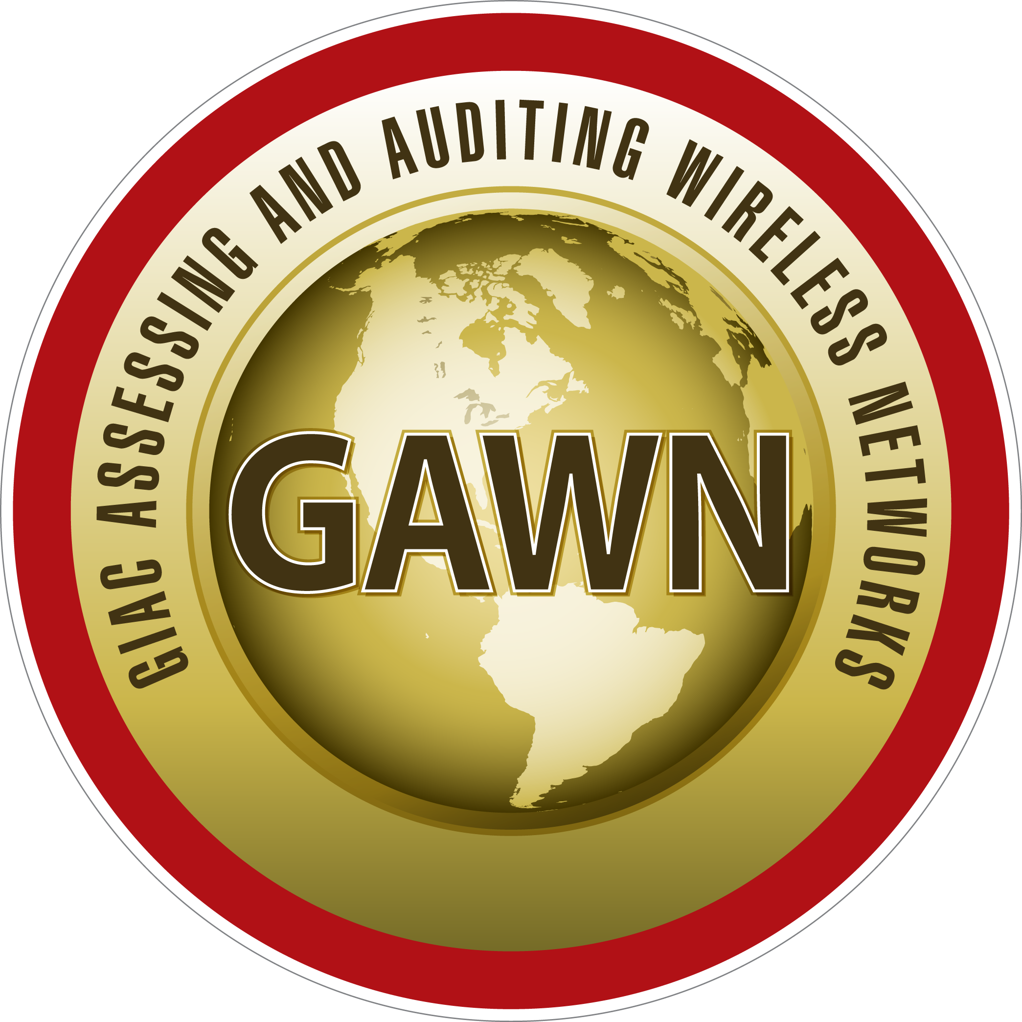 GIAC Assessing and Auditing Wireless Networks (GAWN) icon