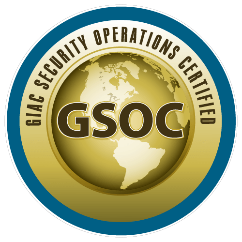 GIAC Security Operations Certified (GSOC) icon