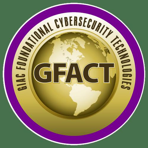 GIAC Foundational Cybersecurity Technologies (GFACT) icon