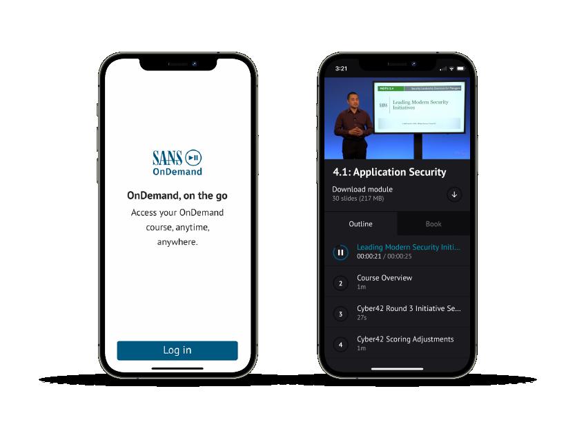 OnDemand Mobile App