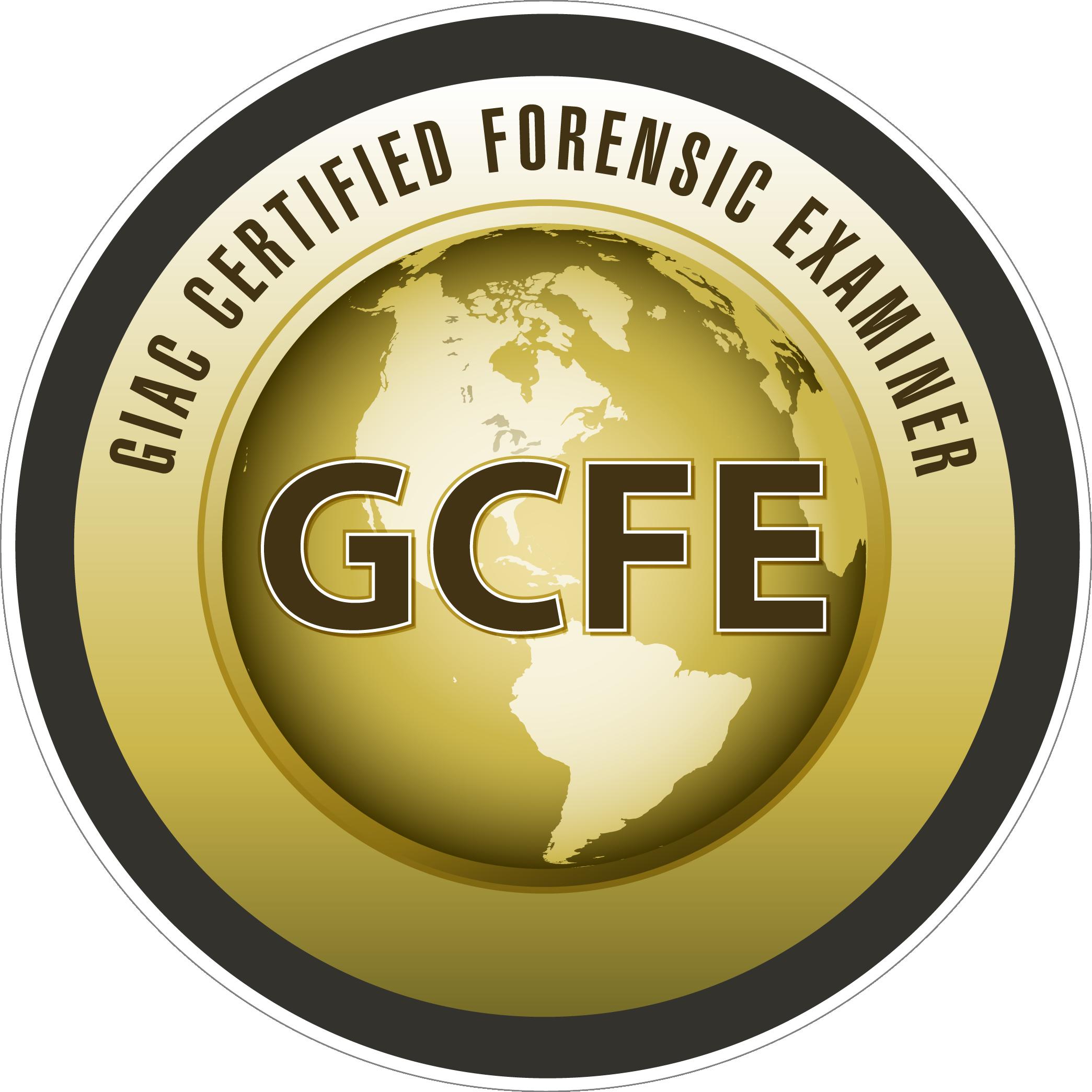 GIAC Certified Forensic Examiner (GCFE) icon
