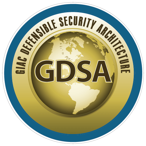 GIAC Defensible Security Architecture (GDSA) icon