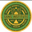 MGT514 SANS Challenge Coin