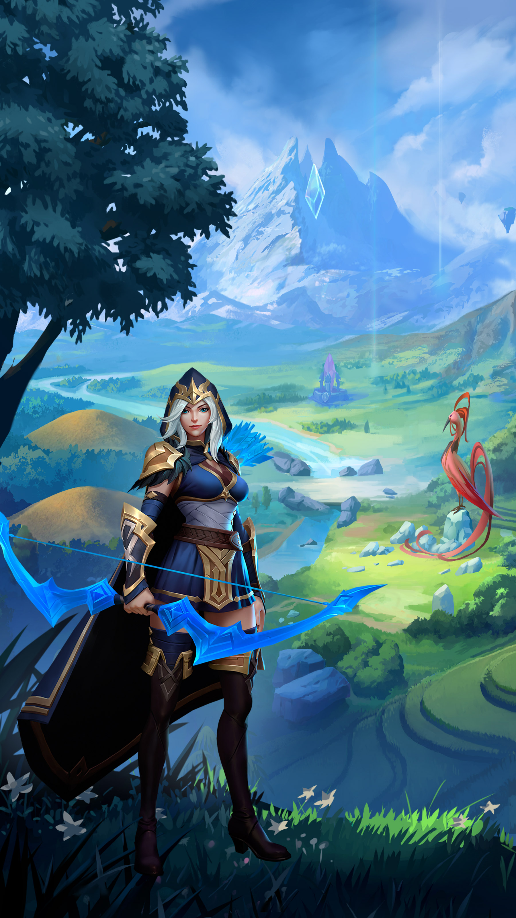wallpaper keren league of legends: wild rift atau LOL