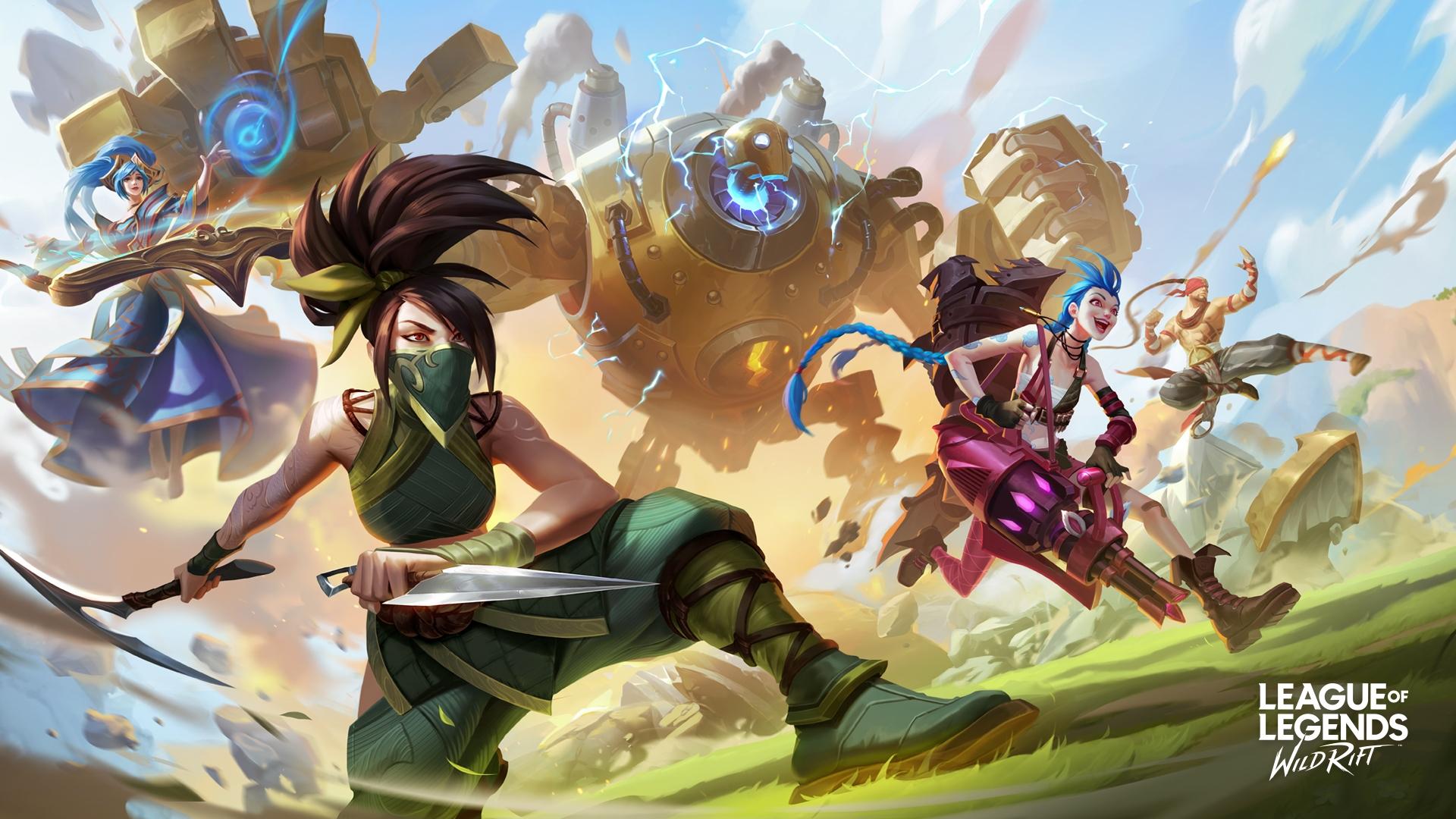 wallpaper hd league of legends: wild rift keren