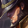 1/3 · TWISTED FATE, THE CARD MASTER