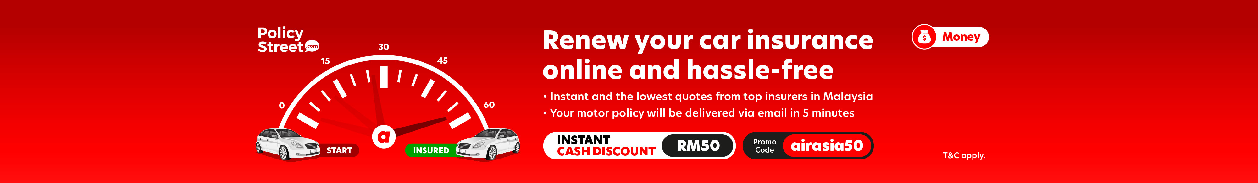 Renew car insurance-promocode