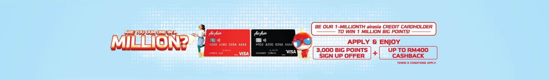 AirAsia Card - big rewards