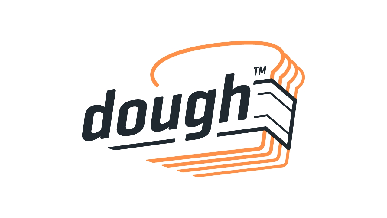 Logo for dough, a commission-free investing app