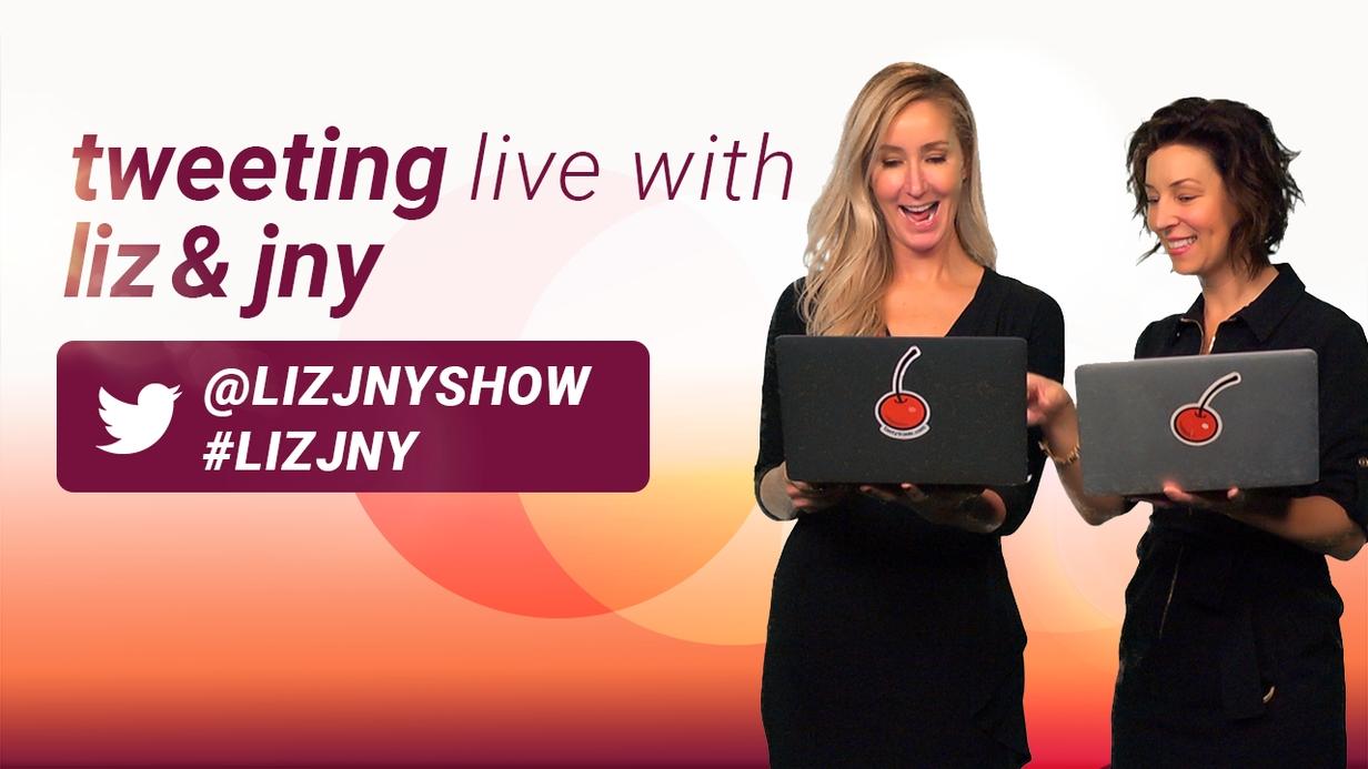 Tweeting Live with LIZ & JNY hero image