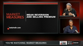 Mean Reversion and Selling Premium
