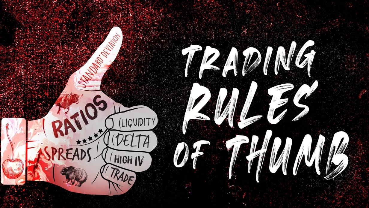 Trading Rules of Thumb hero image