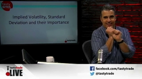 Implied Volatility, Standard Deviation and Their Importance