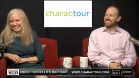 Kim Foerster & Pete McEntergart of Charactour