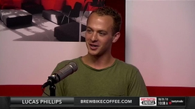 Lucas Phillips of BrewBike Coffee