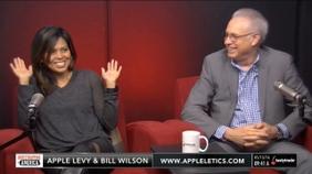 Apple Levy and Bill Wilson of Appleletics.com