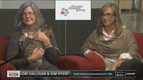 Lori Halligan & Kim Iffert of the Hinsdale Humane Society