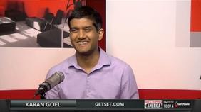 Karan Goel of GetSet