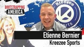 Etienne Bernier of Kreezee Sports