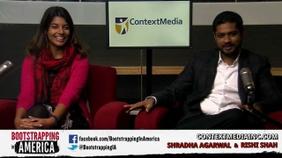 Shradha Agarwal and Rishi Shah of ContextMedia