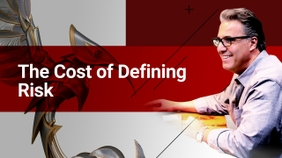 The Cost of Defining Risk