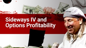 Sideways IV and Option Profitability