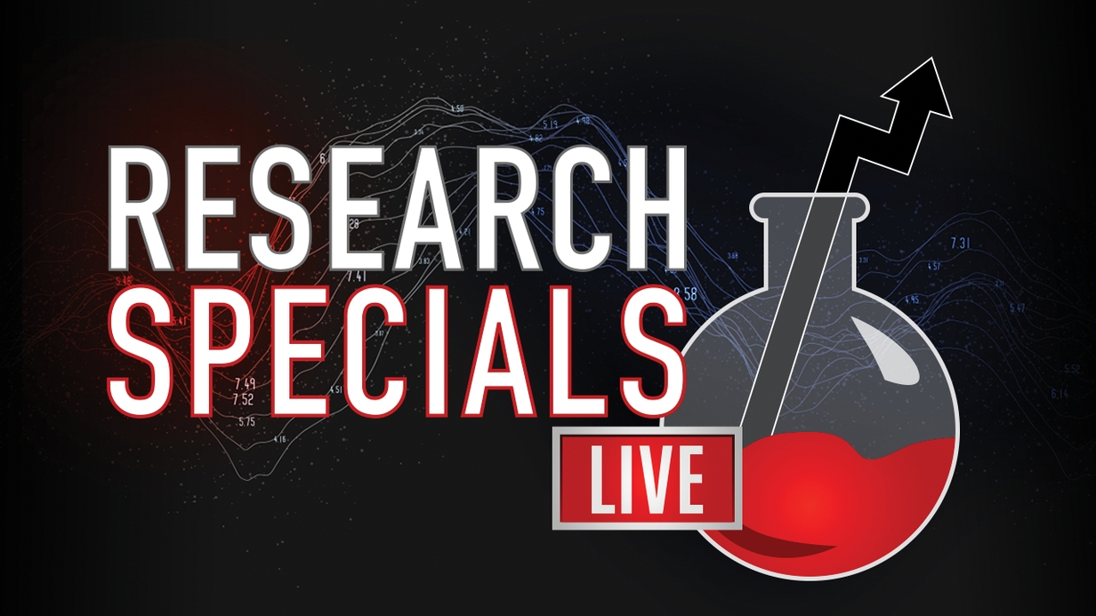 Research Specials LIVE hero image