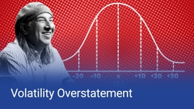 Volatility Overstatement