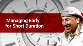 Managing Early for Short Duration Options