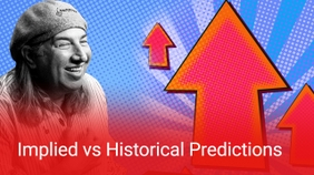 Implied vs Historical Predictions