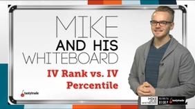 IV Rank vs IV Percentile