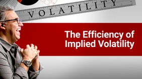 The Efficiency of Implied Volatility