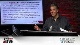 Implied vs Actual IVs | Different Timespans