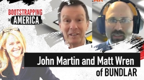 John Martin and Matt Wren of BUNDLAR
