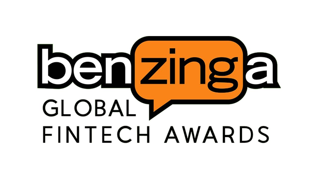 Logo for Benzinga's Global Fintech Awards