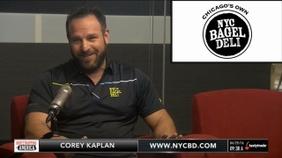 Corey Kaplan of NYC Bagel Deli