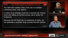 VIX Synthetic Covered Calls