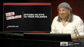 Options on ETFs vs Their Holdings