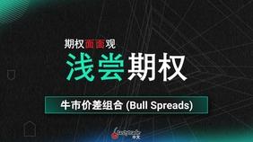Bull Spreads 牛市价差组合