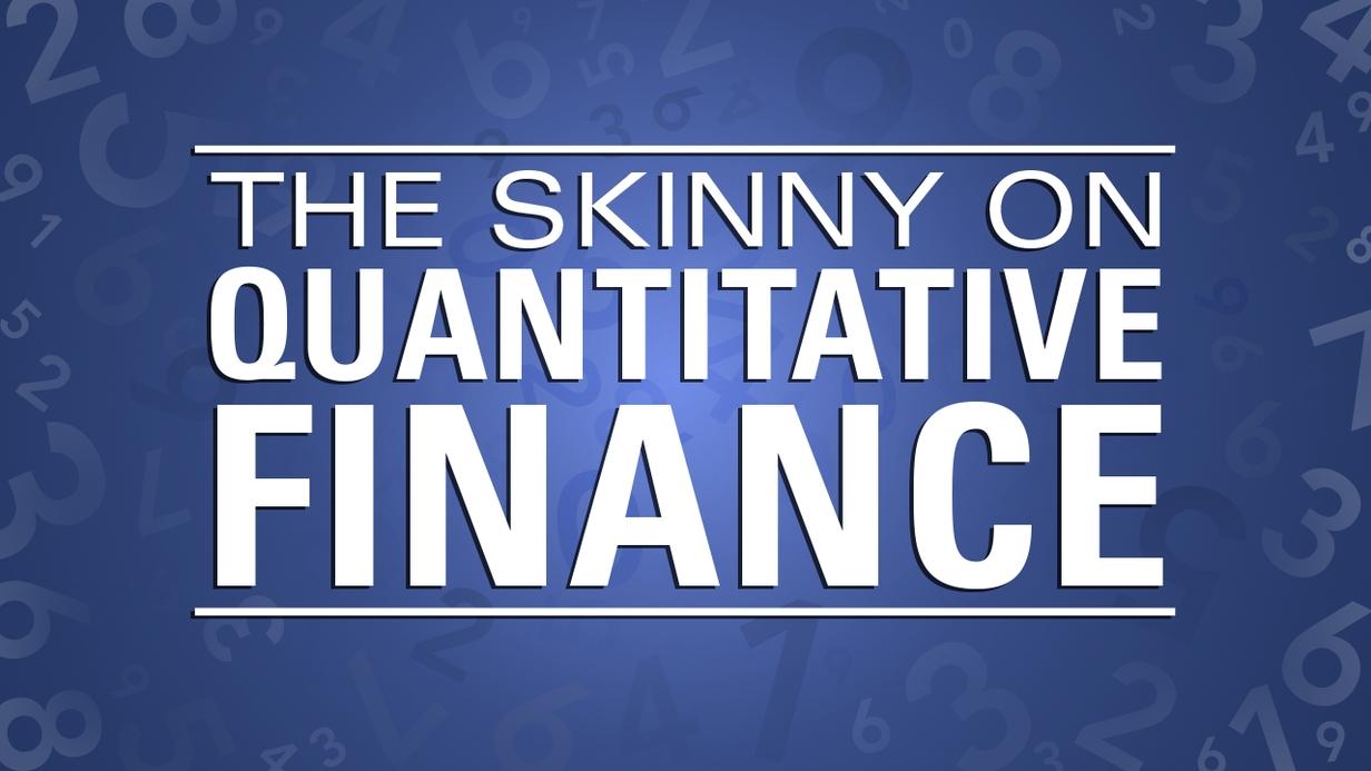 The Skinny on Quantitative Finance hero image